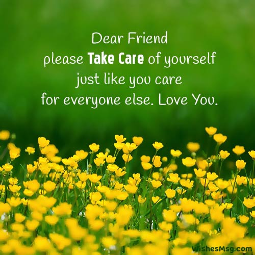 caring messages for friends
