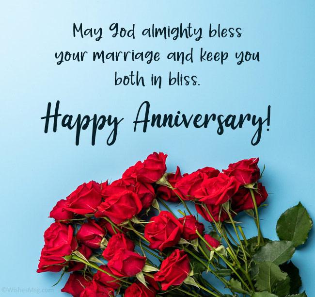 christian anniversary wishes