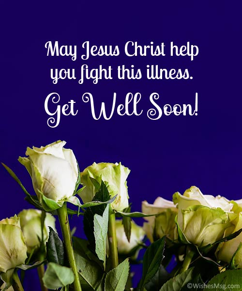 christian get well wishes