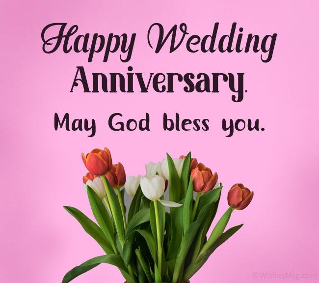 christian wedding anniversary wishes