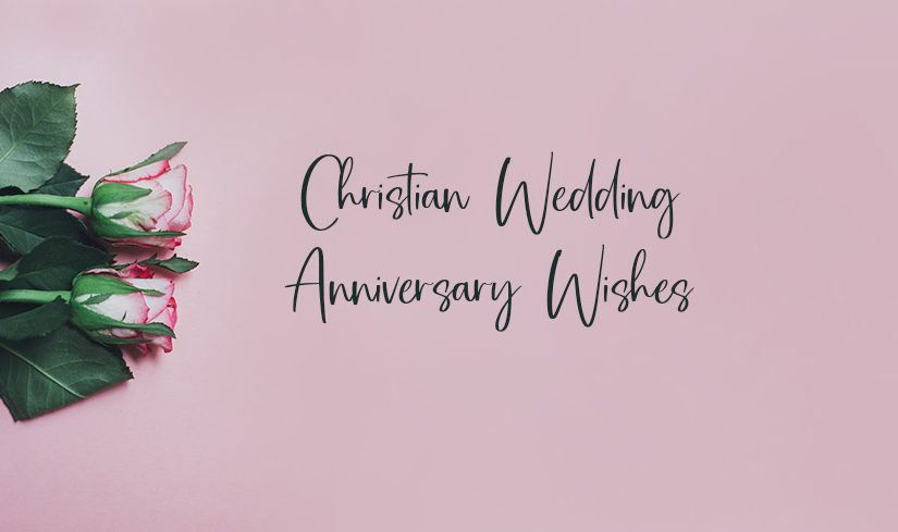 christian wedding anniversary wishes religious