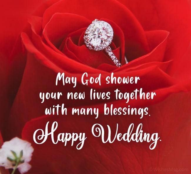 christian wedding wishes