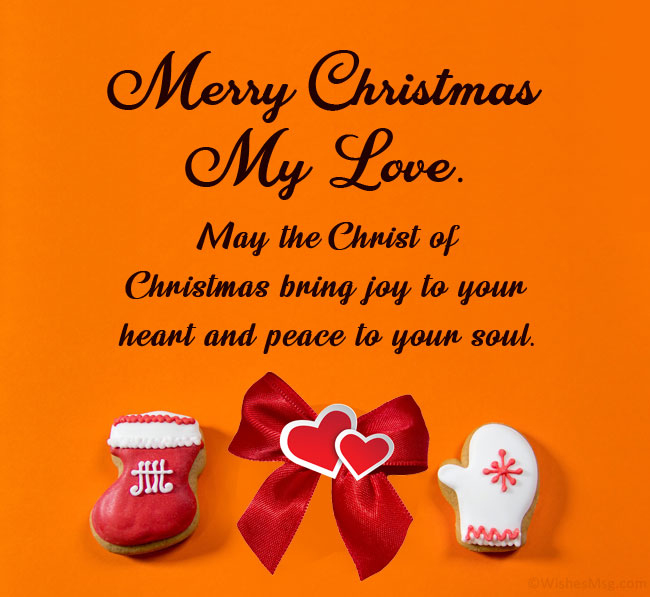 70 Merry Christmas Wishes For Husband Wishesmsg