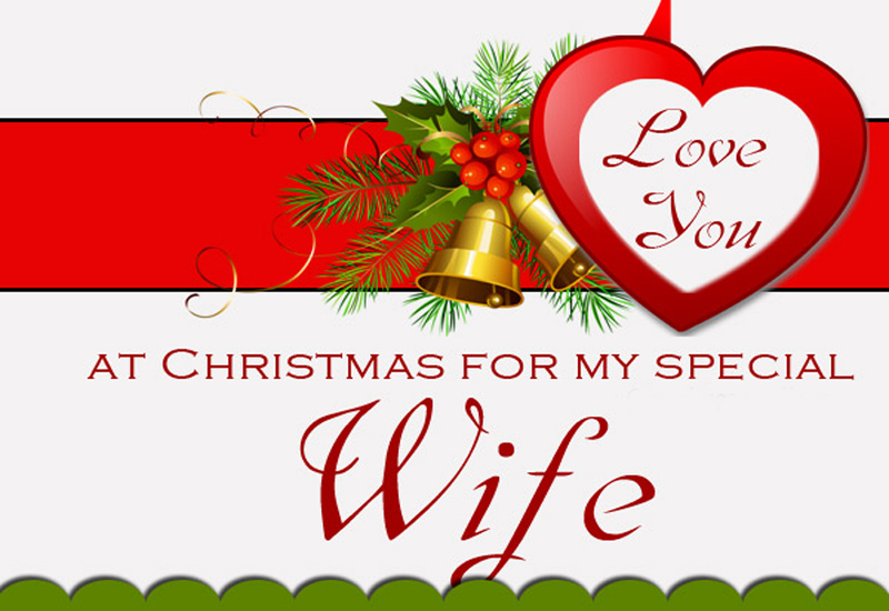 Romantic Christmas Messages For Wife - WishesMsg