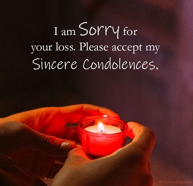 condolence message
