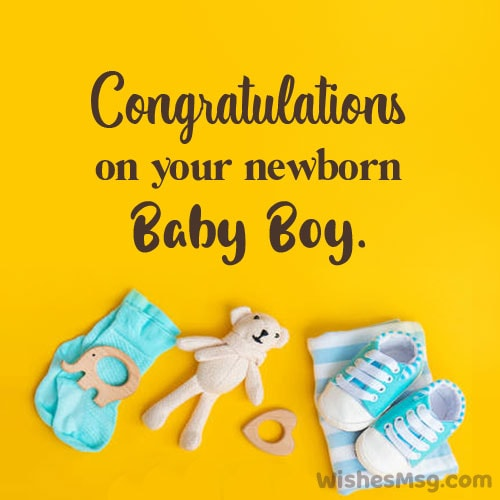 congratulations for baby