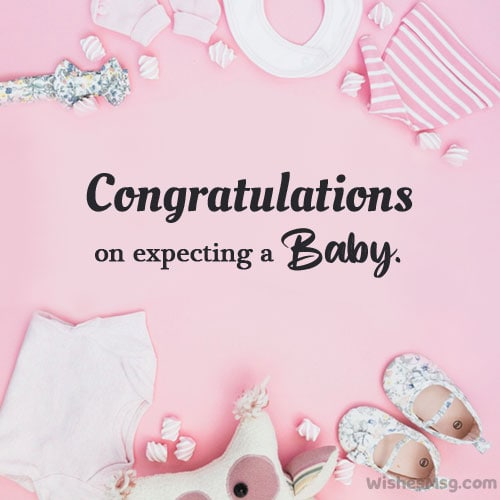 congratulations on expecting a baby