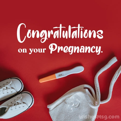 congratulations on your pregnancy