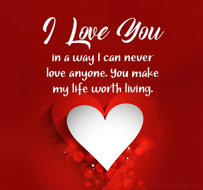 Messages powerful love 150+ Romantic