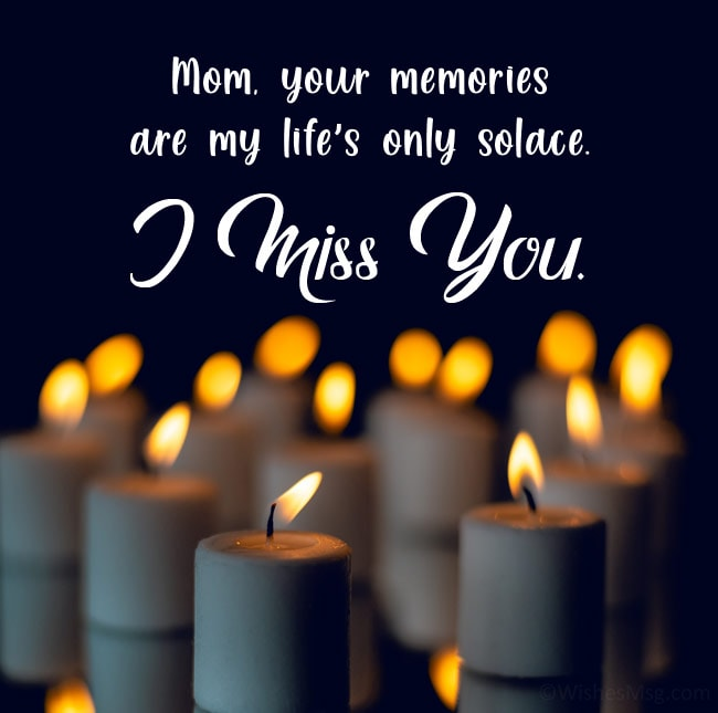 farewell message to a mother who passed away