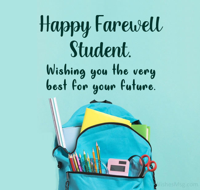 farewell quotes for students