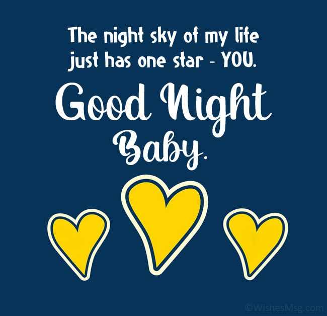 funny sweet good night message for my wife