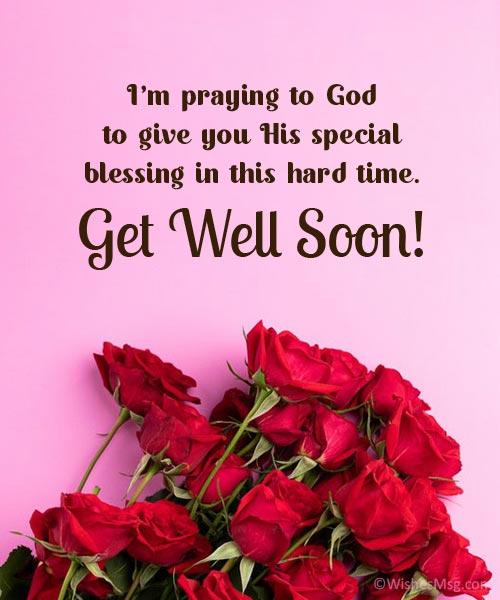 get well prayer messages