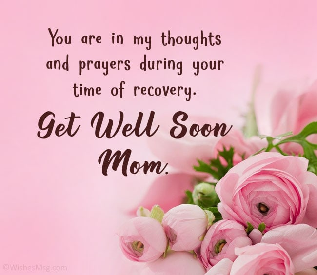 get well soon prayer for mother