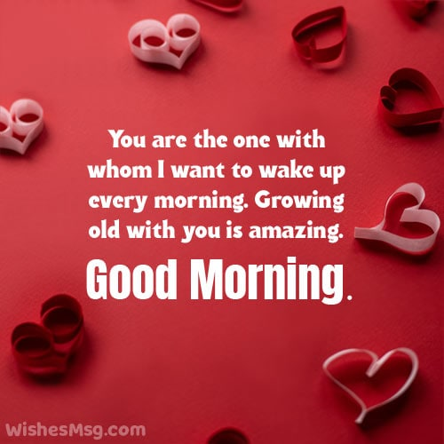 good morning love message for my husband