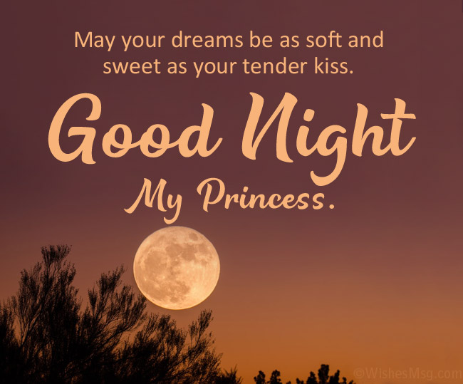 Text for her best goodnight 190+ Good