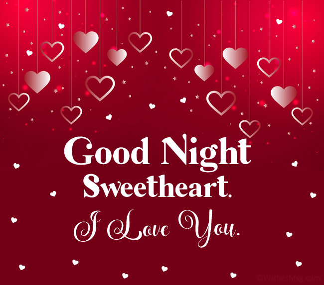 100 Romantic Good Night Love Messages Wishesmsg