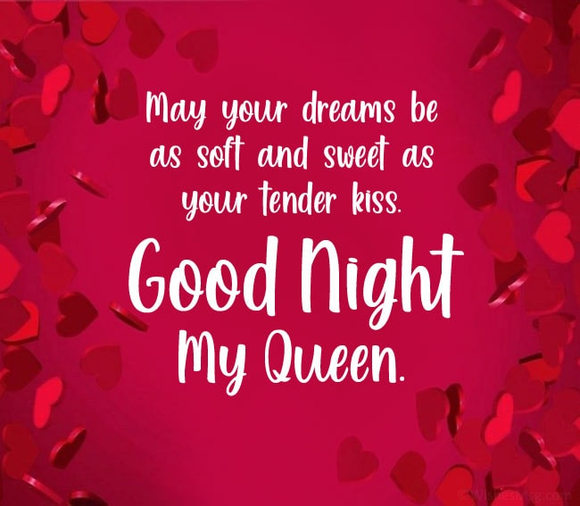 good night message for my wife