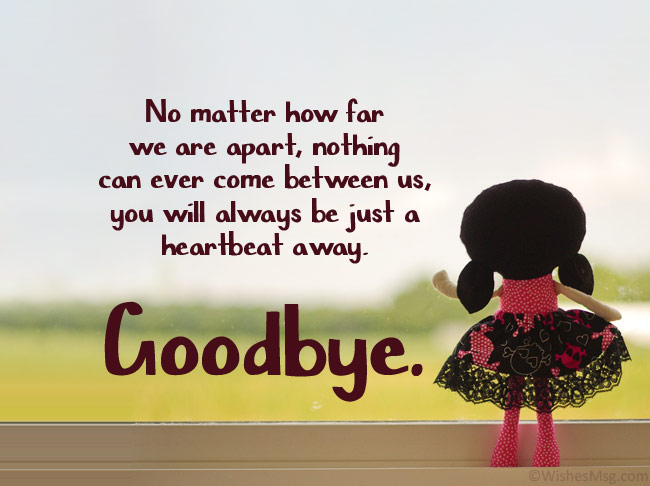 goodbye quotes for him
