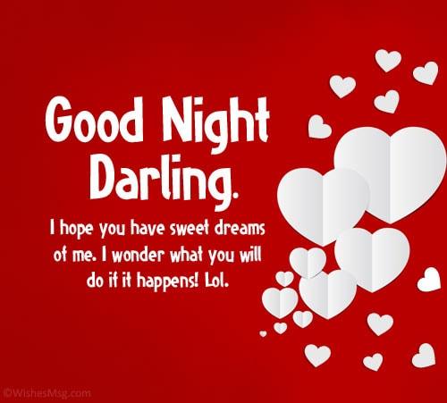 Goodnight message for boyfriend sweet 320+ UNFORGETTABLE