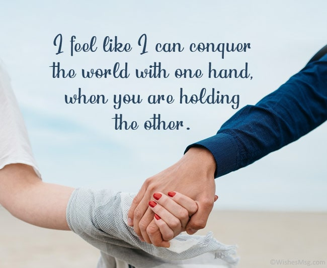 Your hand quotes holding Holding Hands
