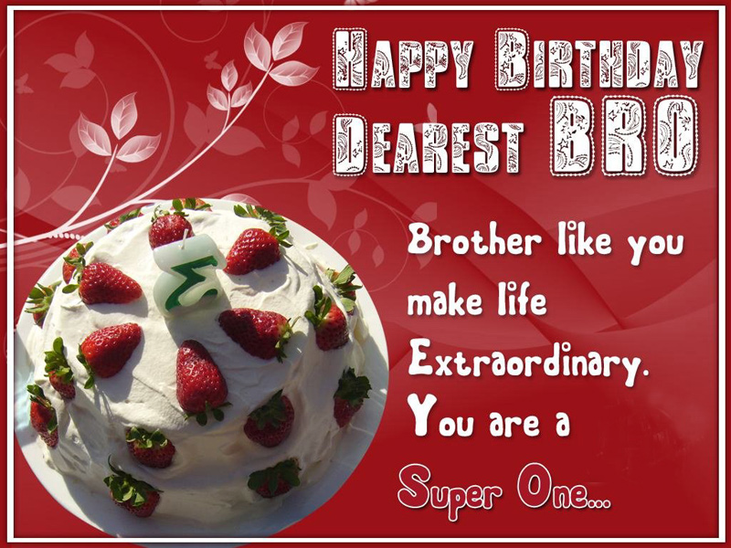 Birthday Wishes For Brother - Cute, Inspiring & Funny