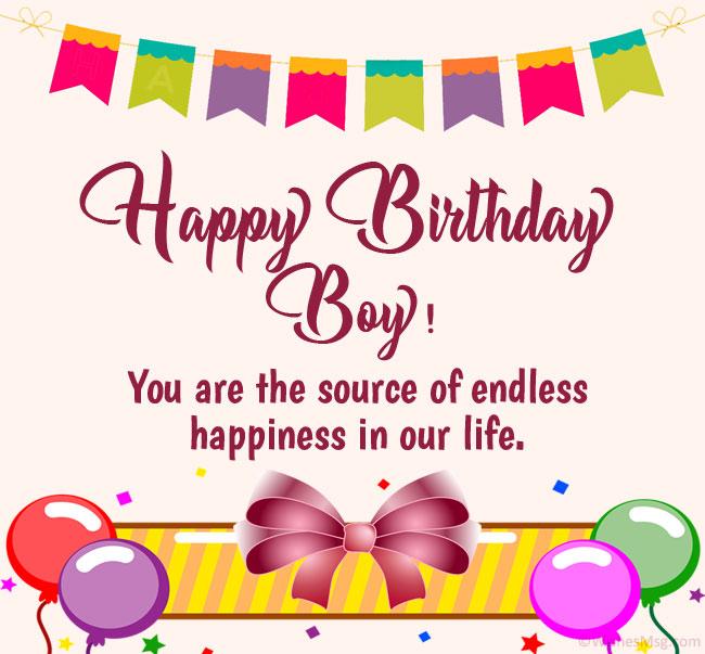 happy birthday wishes for baby boy