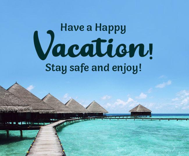 happy vacation