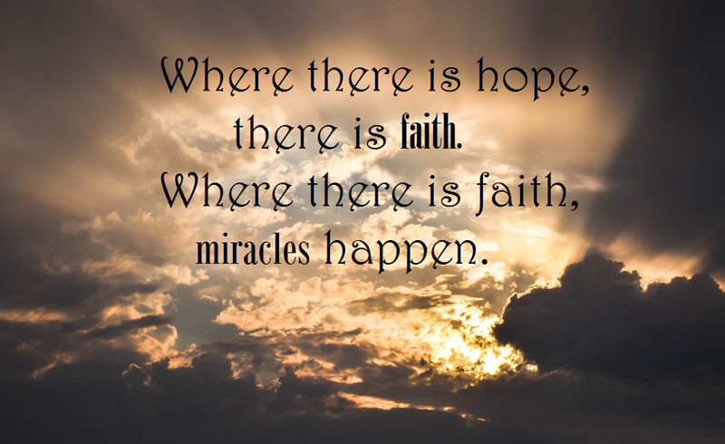 Hope And Faith Quotes Stunning Inspirational Hope Messages Quotes To Never Loss Hope WishesMsg