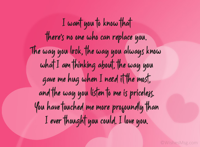 For sweet boyfriend message tagalog His long
