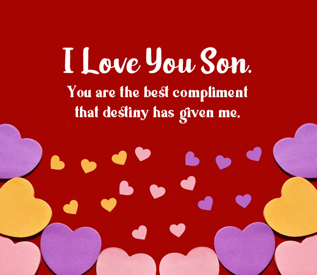love message to my son