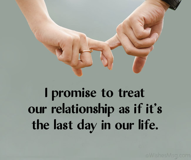 love promise messages for him and her