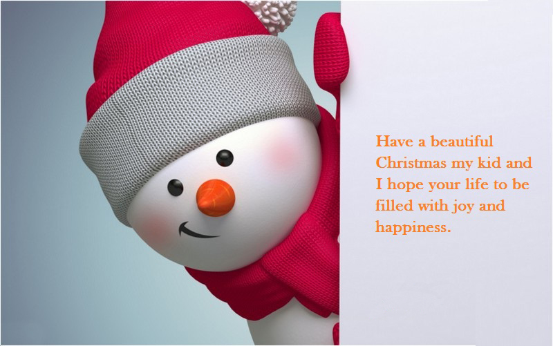 merry christmas messages greetings for kids