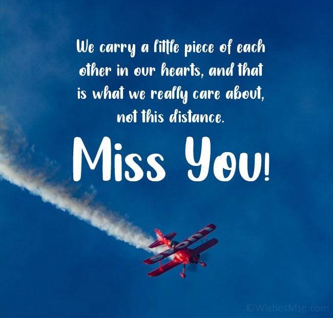 message for a friend who is far away