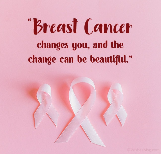 message for breast cancer patients