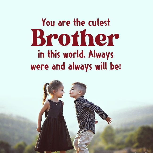 message for brother