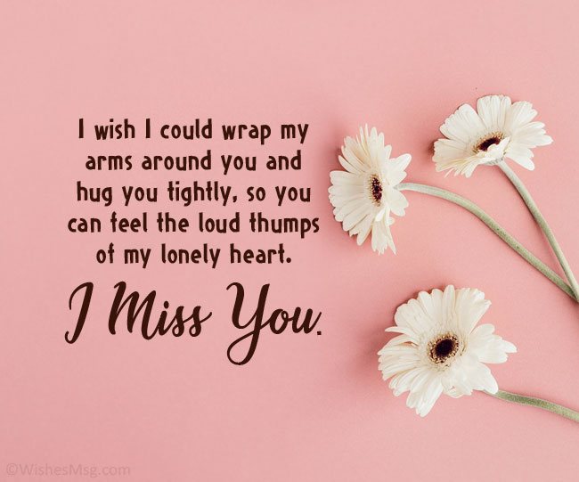 miss you message for gf