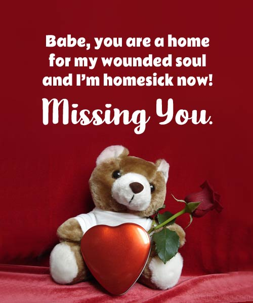 missing my wife quotes