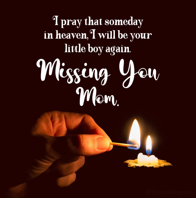 mother death anniversary quotes from son