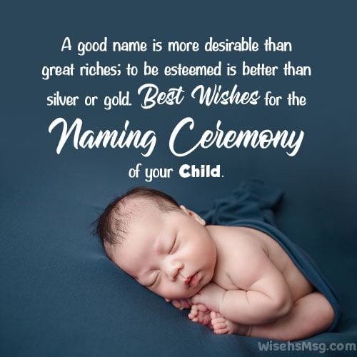 naming ceremony quotes