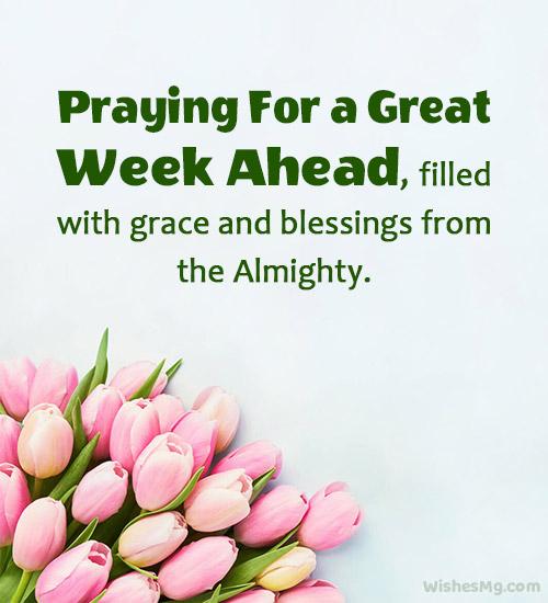 new week prayer