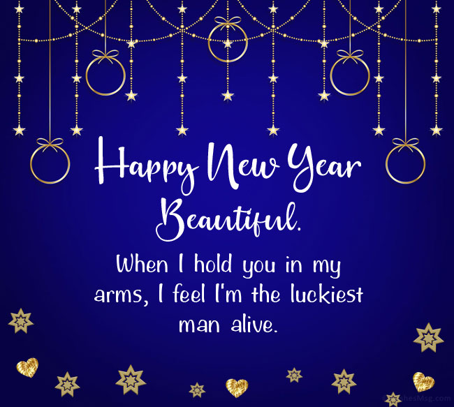 new year wishes for lover