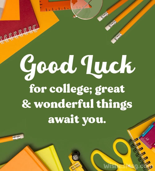 off to college wishes