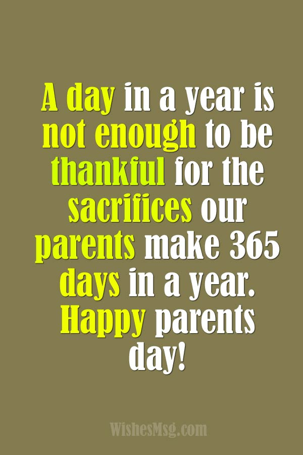 parents day quotes
