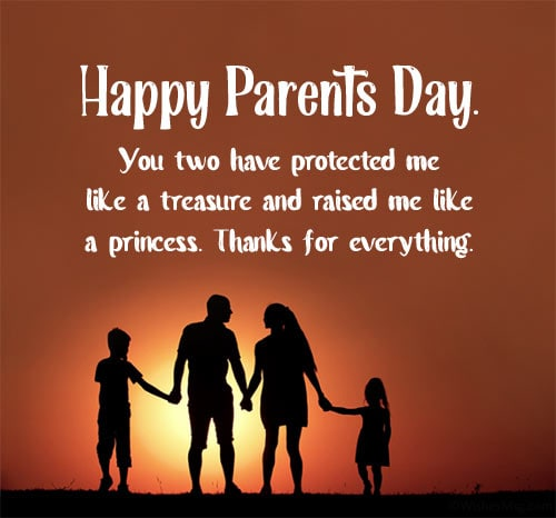 parents day wishes from daughter