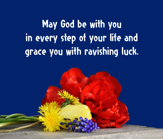 prayer for good luck and success