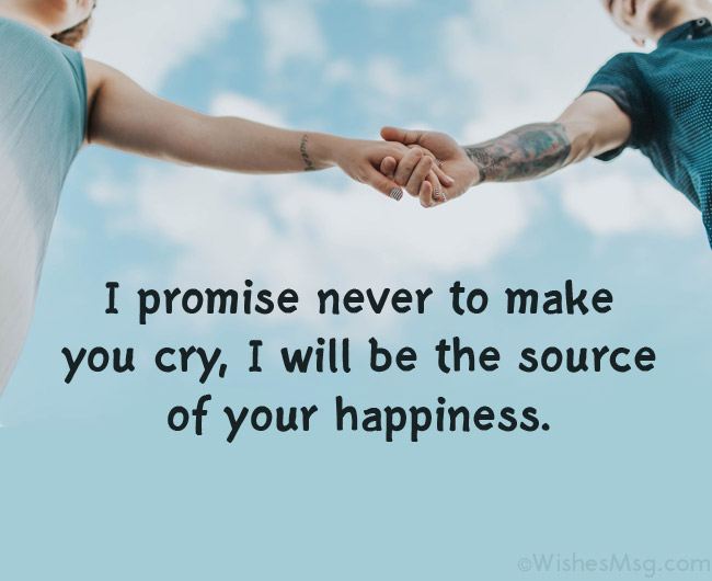 promise and trust message