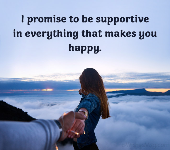 promise love message