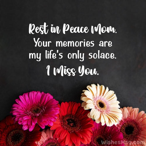 rest in peace mom quotes