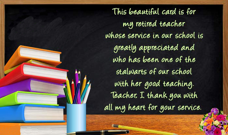 Retirement wishes for teachers farewell messages quotes wishesmsg retirement messages for teacher with picture spiritdancerdesigns Images